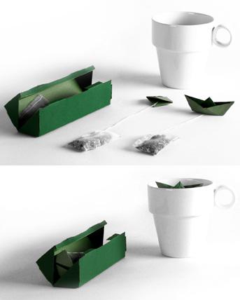 Flotteur à thé